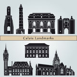 Calais landmarks and monuments Royalty Free Stock Photo