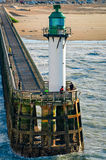 Calais lighthouse Stock Image