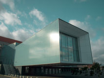 Calais modern design on contruction building Royalty Free Stock Image