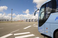 calais promu France bramy wysoki prędkości terminal Obraz Stock