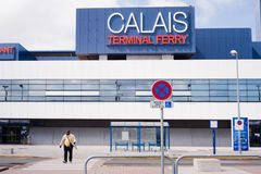 Calais Terminal Ferry Stock Image