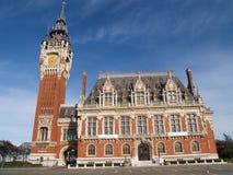 Calais town hall Stock Photos