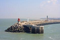 Calaishaven Royalty-vrije Stock Afbeelding