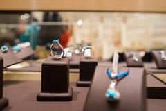 Calaite biżuteria dla sprzedaży Zdjęcie Stock