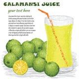 Calamansi juice Stock Image