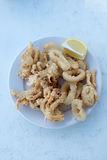 Calamar frito Imagenes de archivo