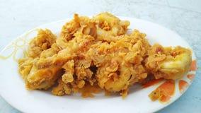 Calamar frito Foto de archivo