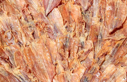 Calamar seco Fotos de Stock Royalty Free