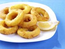 Calamares een Laromana â Gebraden Calamari Royalty-vrije Stock Fotografie