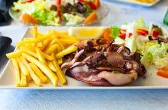 Calamares grelhados Imagem de Stock