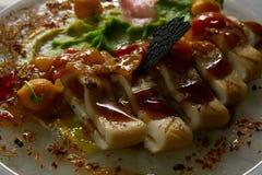 Calamares grelhados italiano Imagens de Stock