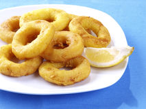 Calamares a la romana � Fried Calamari Royalty Free Stock Photography