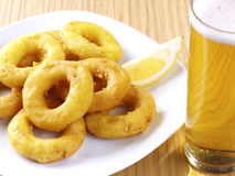 Calamares a la romana � Fried Calamari Royalty Free Stock Image