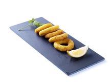 Calamares a la romana – Fried Calamari Royalty Free Stock Photos