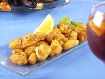 Calamares a la romana – Fried Calamari Stock Photo