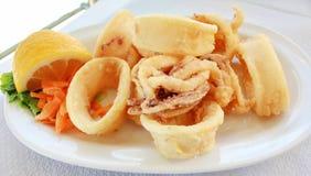calamari Arkivbild