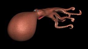 Calamari 3D comique Photographie stock