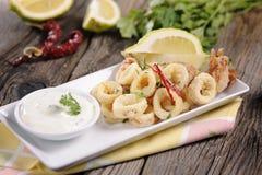 calamari Fotografie Stock