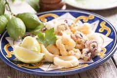 calamari Fotografering för Bildbyråer