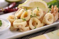 calamari Royaltyfri Fotografi
