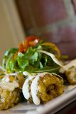 Calamari de poivre. Images stock
