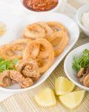 Calamari Royalty Free Stock Images