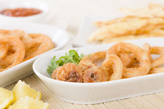 Calamari Royalty Free Stock Photography