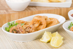 Calamari Royalty Free Stock Photos