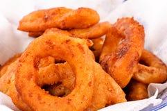 Calamari fried Stock Image