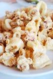 Calamari frit frais Photo libre de droits
