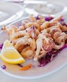 Calamari fritti immagine stock libera da diritti