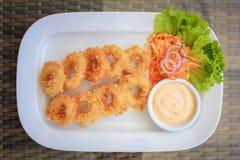 Calamari Fritti stock images