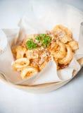 Calamari fritto Immagine Stock