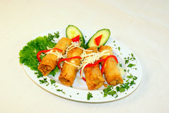 Calamari fritto Fotografie Stock