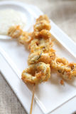 Calamari italian fried squid Royalty Free Stock Photography