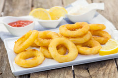 Calamari italian style Stock Photos