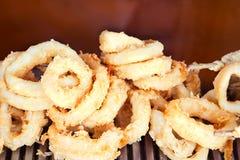 calamari pierścionki Zdjęcie Royalty Free