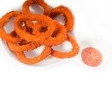 calamari pierścionki Obrazy Royalty Free
