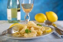 Calamari rings Royalty Free Stock Images