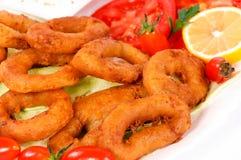 Calamari rings Stock Photography