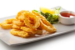 Calamari Rings Royalty Free Stock Image