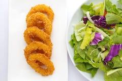 Calamari rings Stock Photo