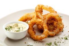Calamari Rings Royalty Free Stock Image