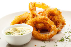 Calamari Rings Royalty Free Stock Photos