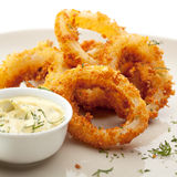 Calamari Rings Stock Image