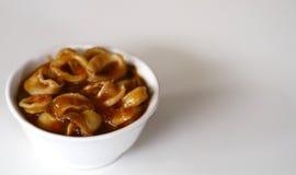 Calamaro in salsa di Padang fotografia stock