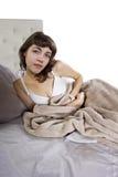 Calambres de estómago Fotografía de archivo libre de regalías