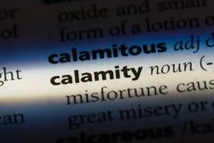 calamité images stock