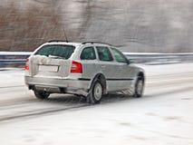 Calamité de neige photo stock