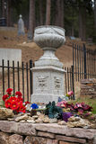Calamity Jane burial site Stock Photo
